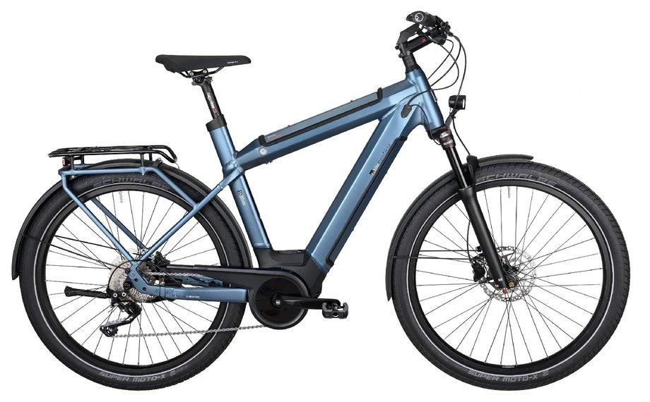 E-Bikes/e-bike: E-Bike Manufaktur  15ZEHN EXT Blau Modell 2020