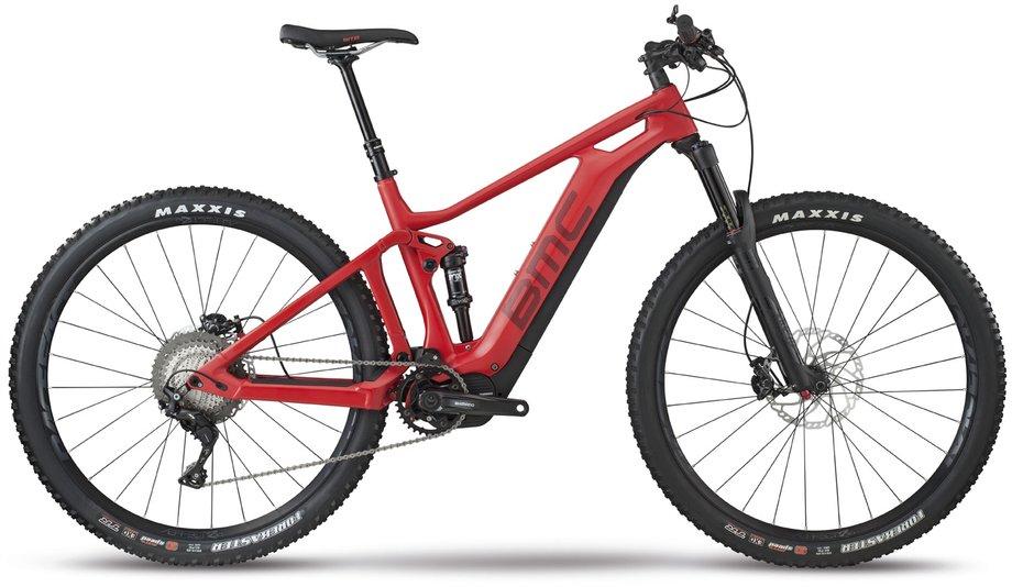 E-MTB Fully E-Mountenbike BMC Speedfox AMP Two Rot*
