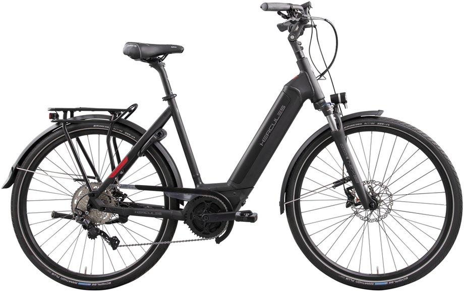 E-Bikes/e-bike: Hercules  E-Imperial I-10 Schwarz Modell 2021