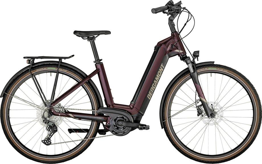 E-Bikes/e-bike: Bergamont Bergamont E-Horizon Expert Wave aubergine Lila Modell 2021