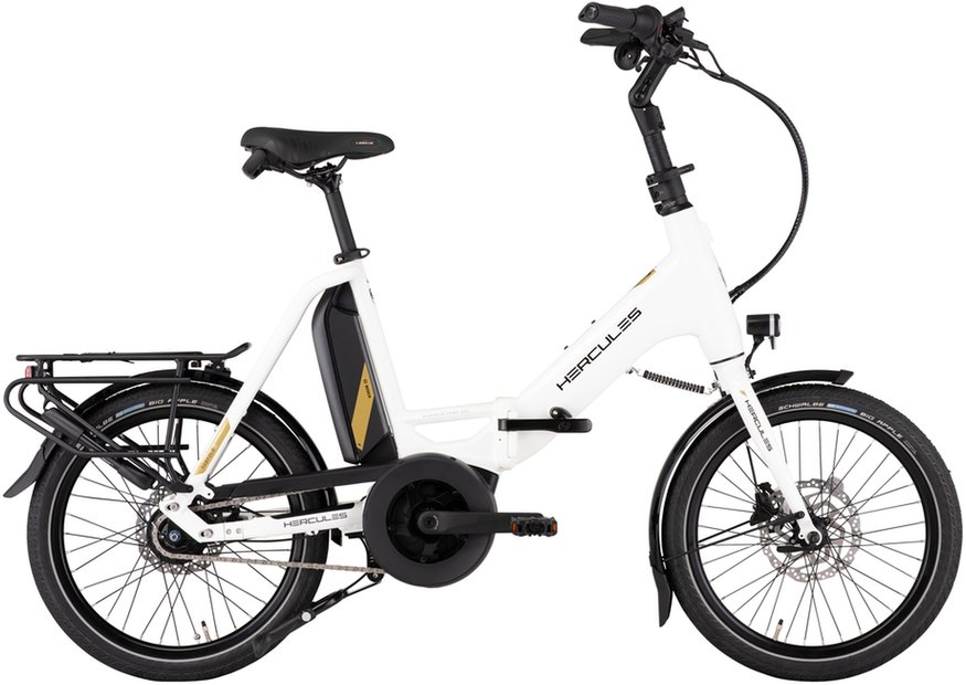 E-Bikes/e-bike: Hercules  Rob Fold R8 Weiß Modell 2021