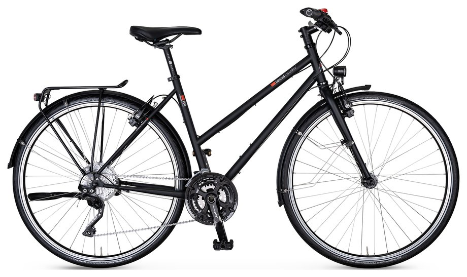 Fahrräder/trekkingräder: VSF-fahrradmanufaktur  T-700 Kette HS22 Schwarz Modell 2021