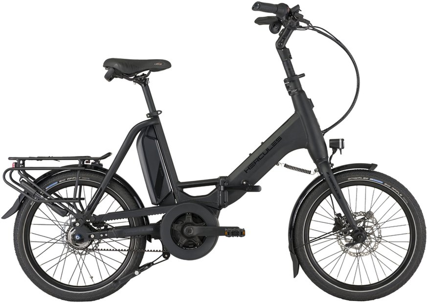 E-Bikes/e-bike: Hercules  Rob Fold R5 Schwarz Modell 2021