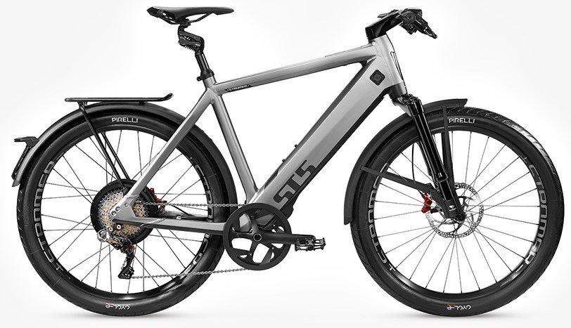 E-Bikes/e-bike: Stromer  ST5 Grau Modell 2021
