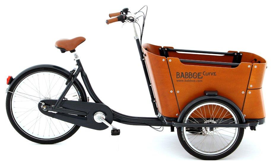 Fahrräder/lastenfahrräder: Babboe  Curve Mountain Schwarz Modell 2020