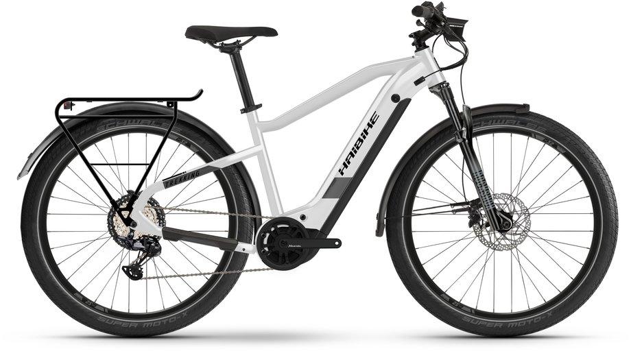 Haibike Trekking 8 E Bike Weiß Modell 2021