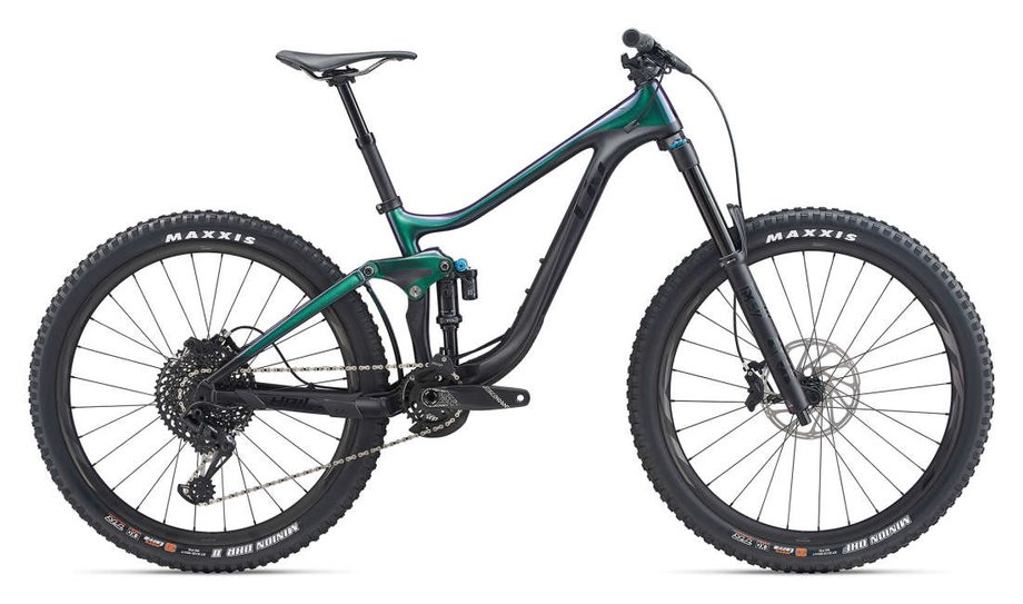Fahrräder/Mountainbikes: Liv  Hail Advanced Schwarz Modell 2020