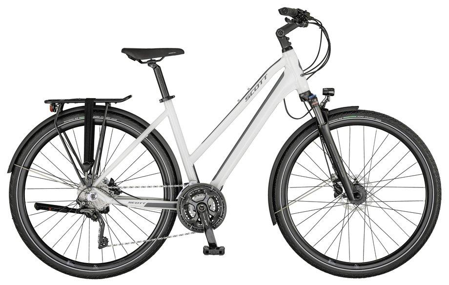 Fahrräder/Crossbikes: Scott  Sub Sport 10 Lady Weiß Modell 2021