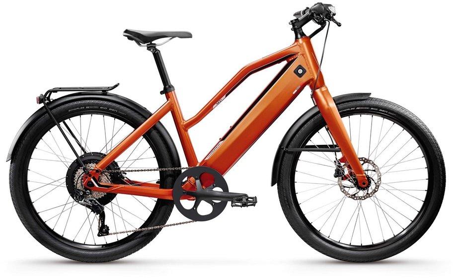 E-Bikes/e-bike: Stromer  ST1 X Orange Modell 2019
