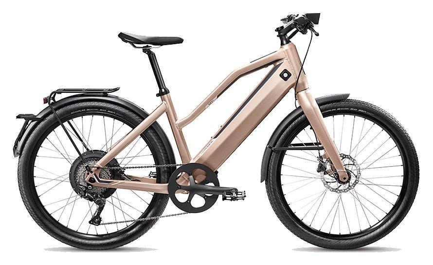 E-Bikes/e-bike: Stromer  ST1 X Beige Modell 2019