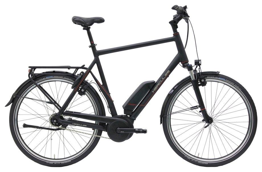 E-Bikes/e-bike: Hercules  E-Imperial 180 S R8 Schwarz Modell 2020