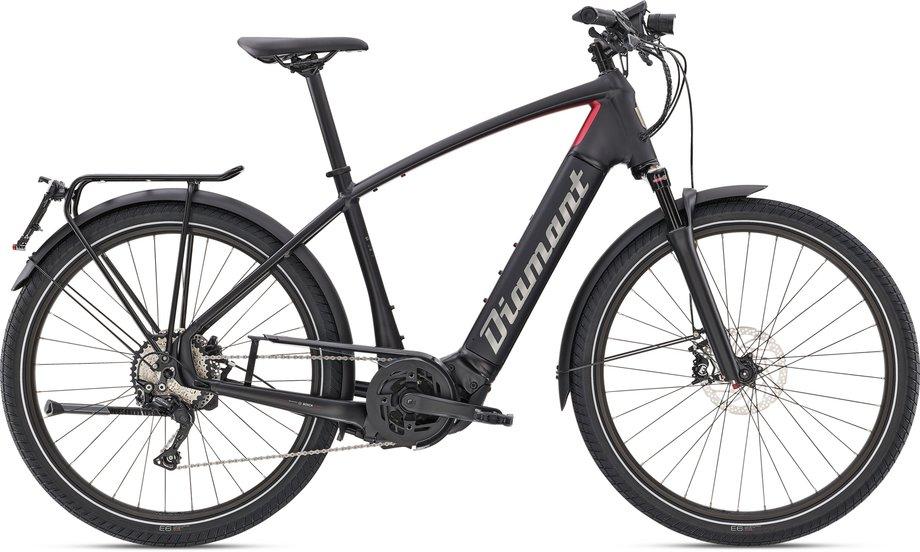 E-Bikes/e-bike: Diamant  Zouma Deluxe+ S Schwarz Modell 2021