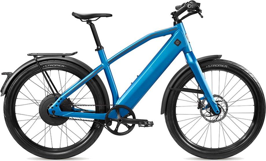 E-Bikes/e-bike: Stromer  ST2 LE Beltdrive Rigid Blau Modell 2021