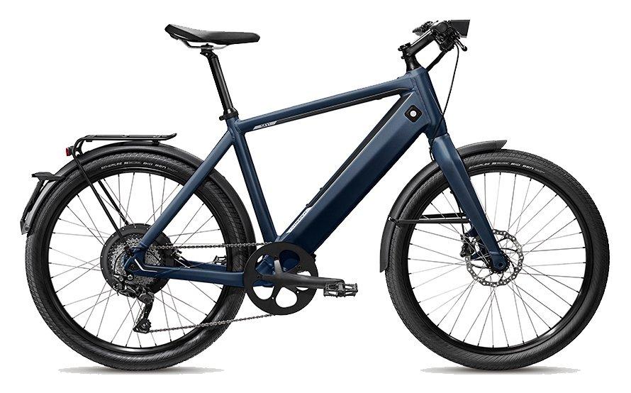E-Bikes/e-bike: Stromer  ST1 X Blau Modell 2019