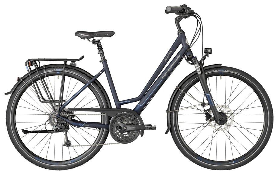 Bergamont Horizon 6.0 Amsterdam Trekkingrad Blau Modell 2018