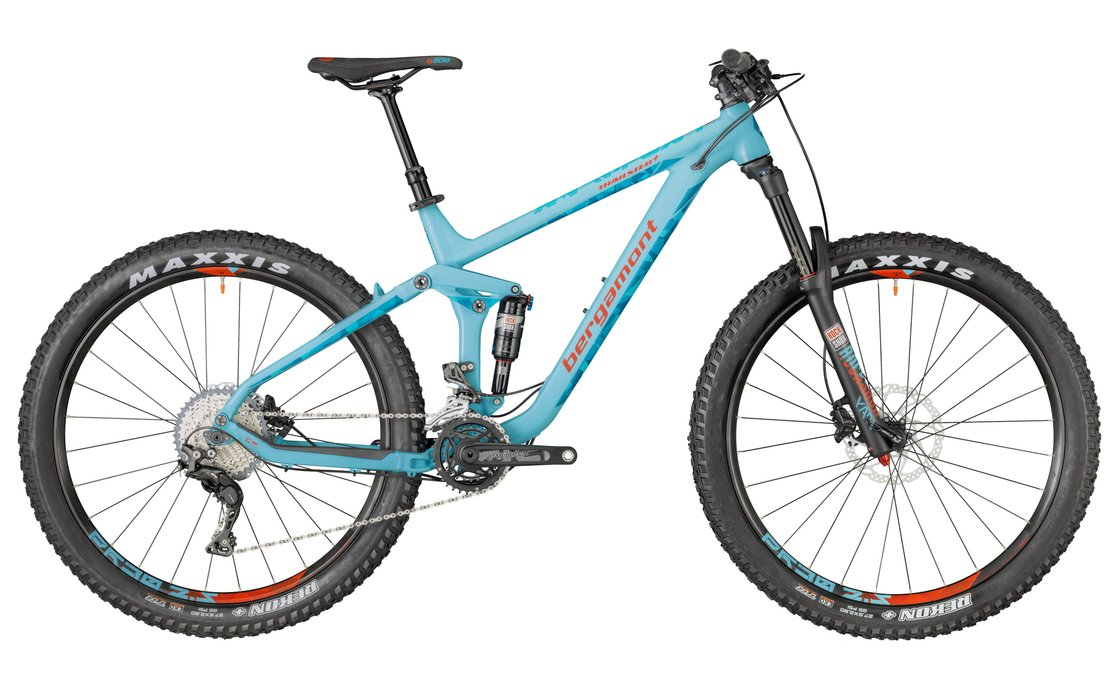 Bergamont Trailster 8.0 Plus - 2018 - 27,5 Zoll - Fully