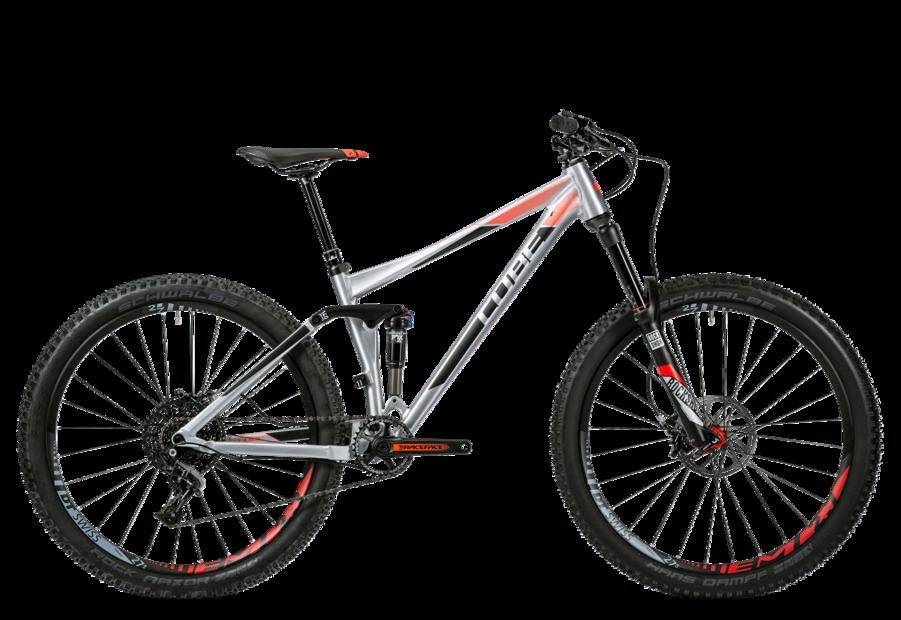 Cube Stereo 140 HPA SL 27.5 Mountainbike Grau Modell 2016