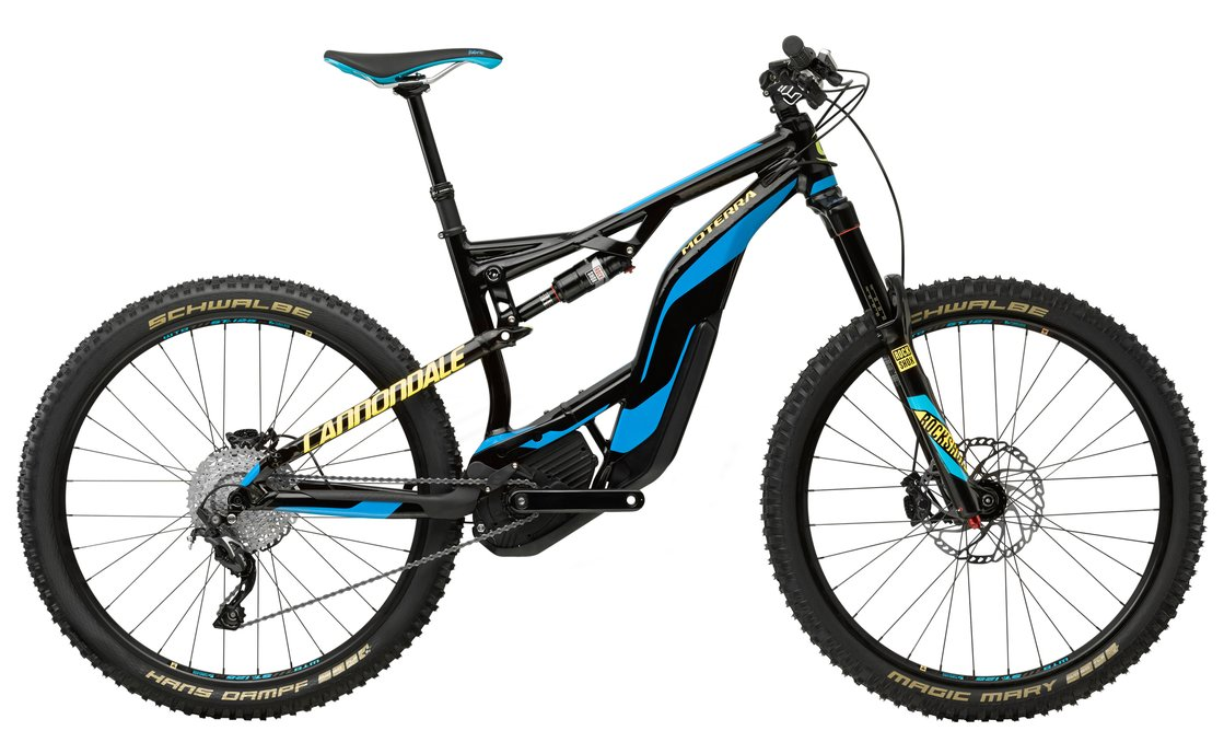 Cannondale Moterra LT 2 - 500 Wh - 2018 - 27,5 Zoll - Fully