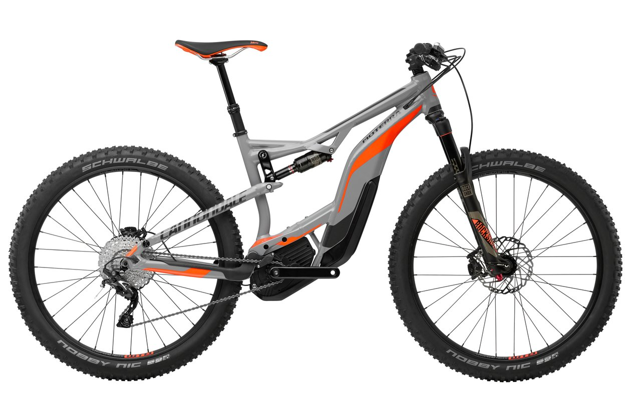 Cannondale Moterra 2 - 500 Wh - 2018 - 27,5 Plus Zoll - Fully