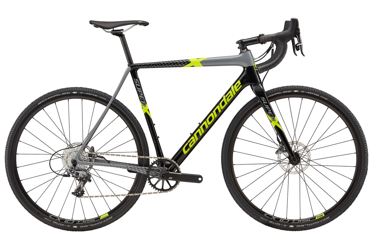 Cannondale SuperX Force 1 - 2018 - 28 Zoll - Diamant