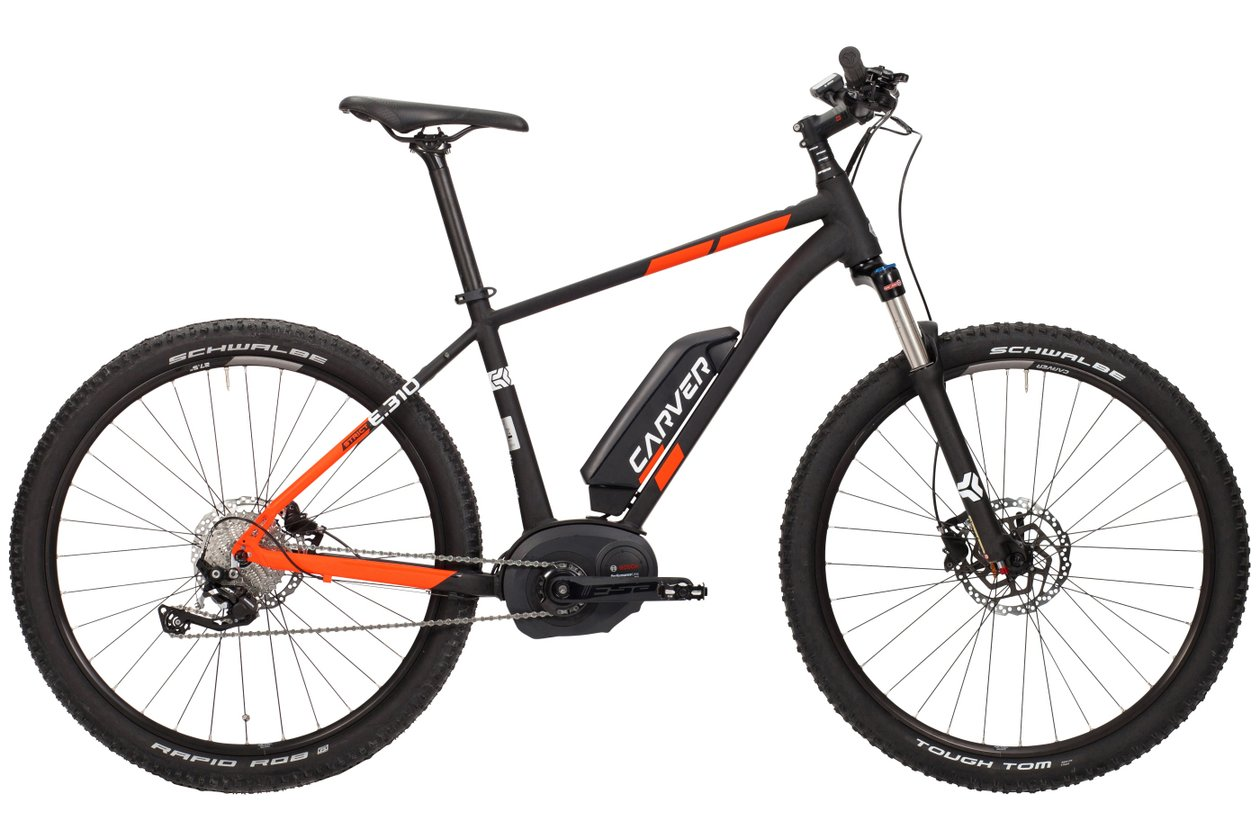 Carver Strict E.310 - 500 Wh - 27,5 Zoll - Hardtail