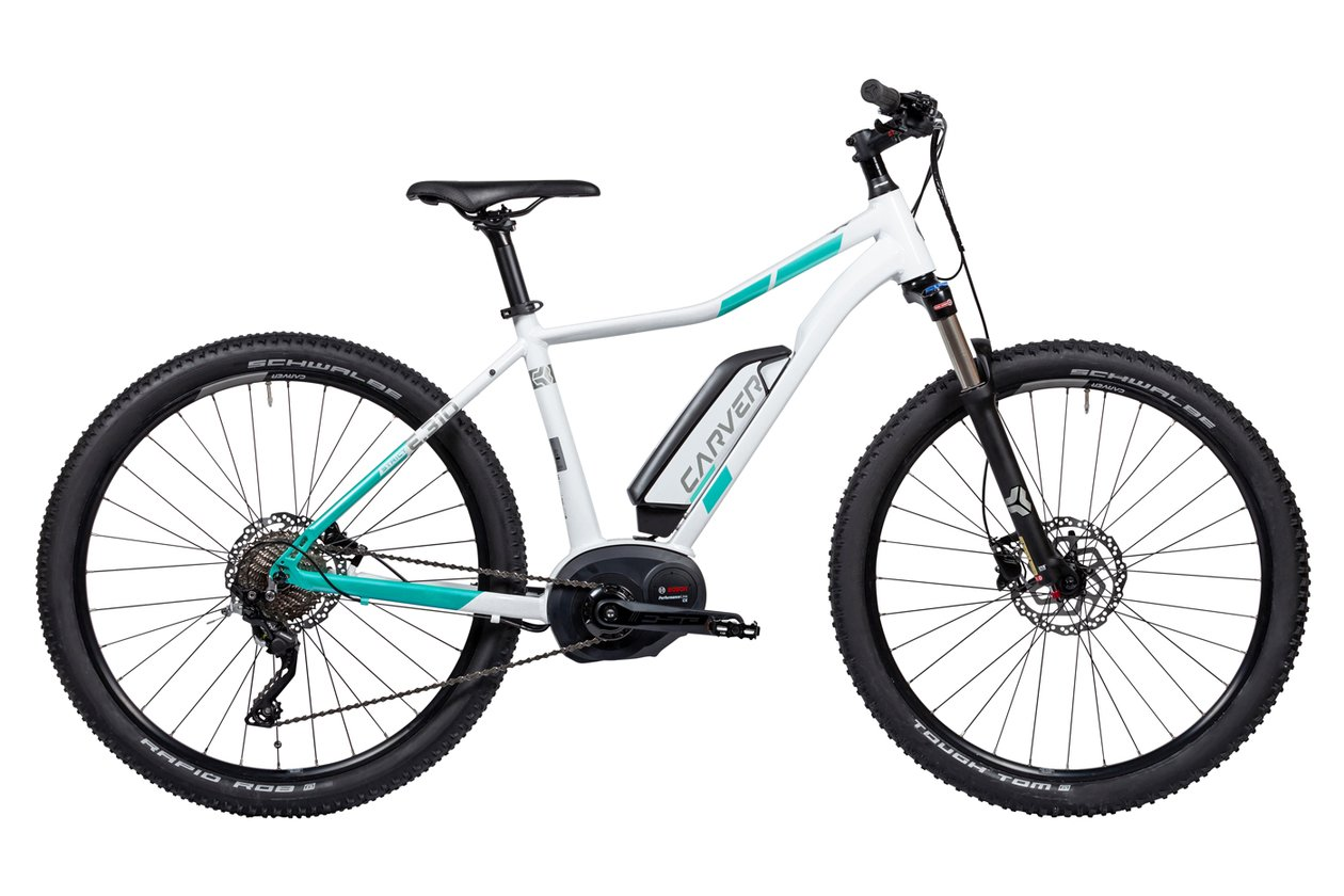 Carver Strict E.310 W - 500 Wh - 27,5 Zoll - Hardtail