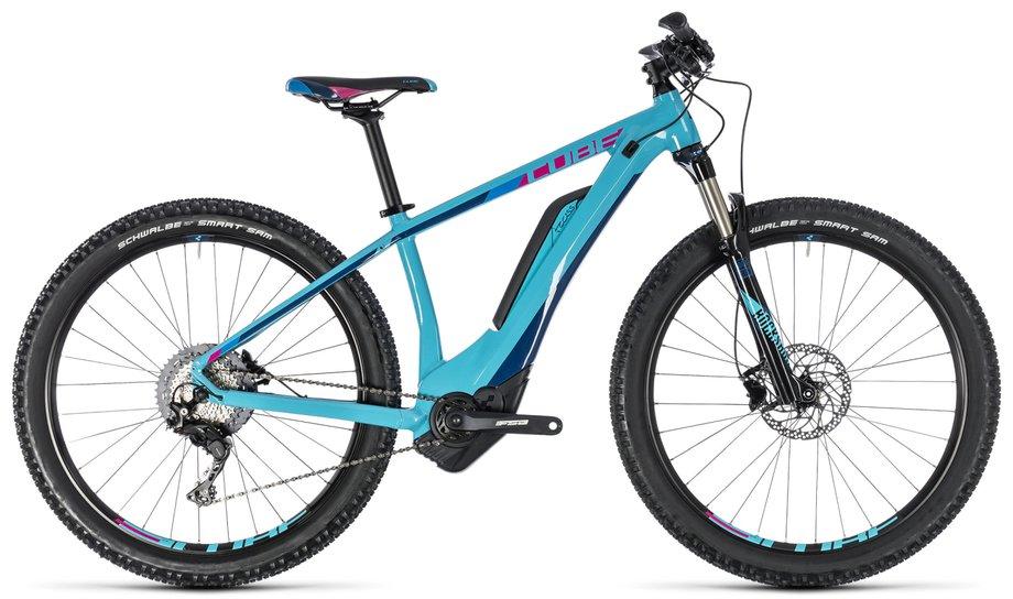 cube access hybrid race 500 e bike t rkis modell 2018. Black Bedroom Furniture Sets. Home Design Ideas