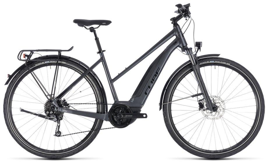 cube touring hybrid one 500 e bike grau modell 2018 test. Black Bedroom Furniture Sets. Home Design Ideas