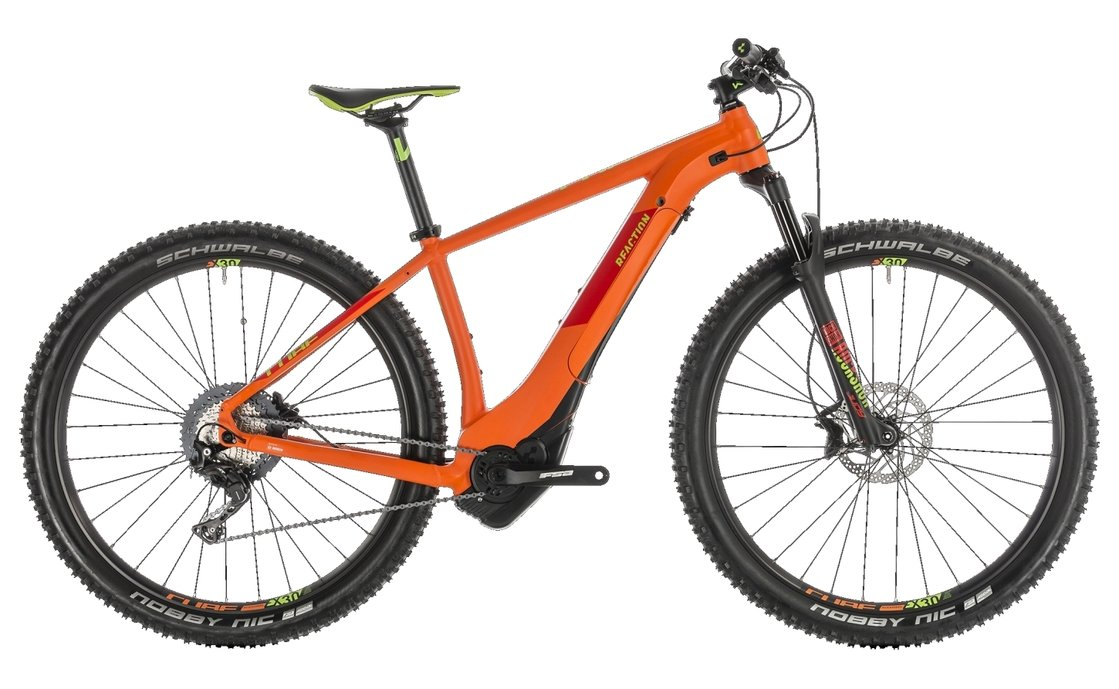 Cube Reaction Hybrid SL 500 - 500 Wh - 2019 - 29 Zoll - Hardtail