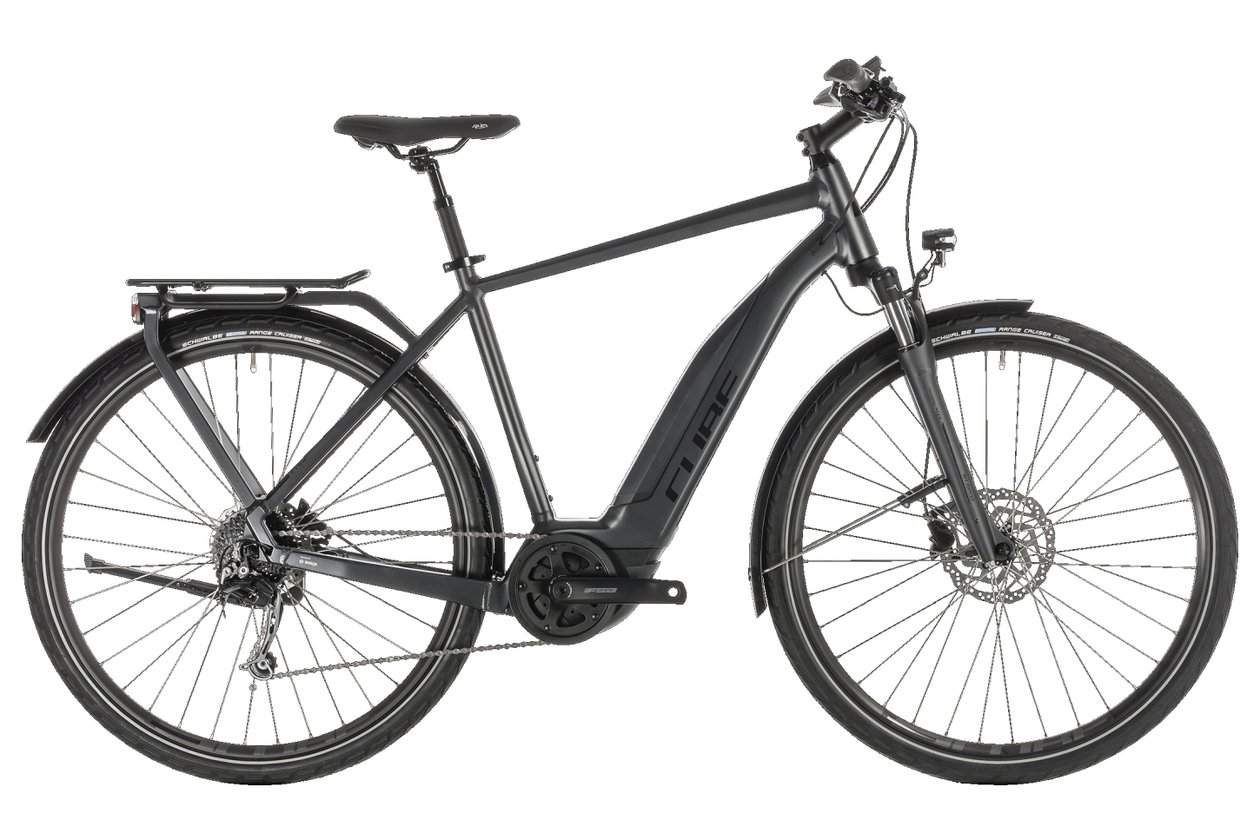 Cube Touring Hybrid 500 - 500 Wh - 2019 - 28 Zoll - Diamant