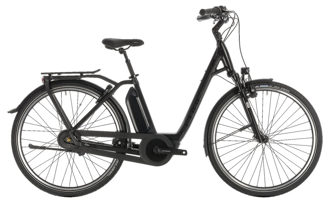 Cube Town Hybrid EXC 500 - 500 Wh - 2019 - 28 Zoll - Tiefeinsteiger