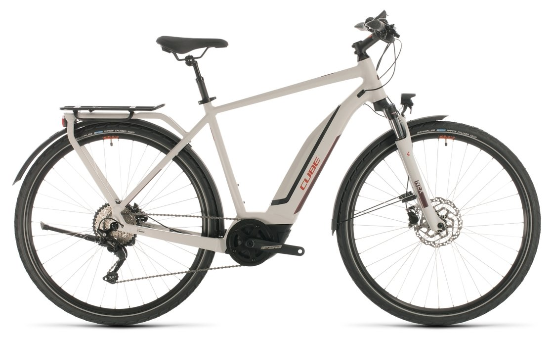 Cube Touring Hybrid Pro 500 - 500 Wh - 2020 - 28 Zoll - Diamant