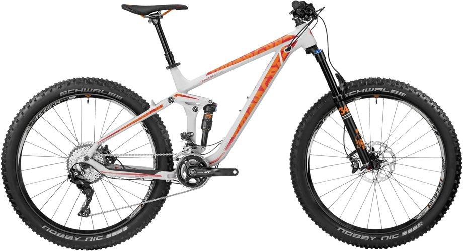 Bergamont Trailster 8.0 Plus Mountainbike Grau Modell 2017