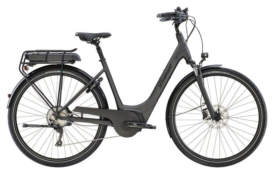 Diamant Ubari Deluxe E Bike Schwarz Modell 2019