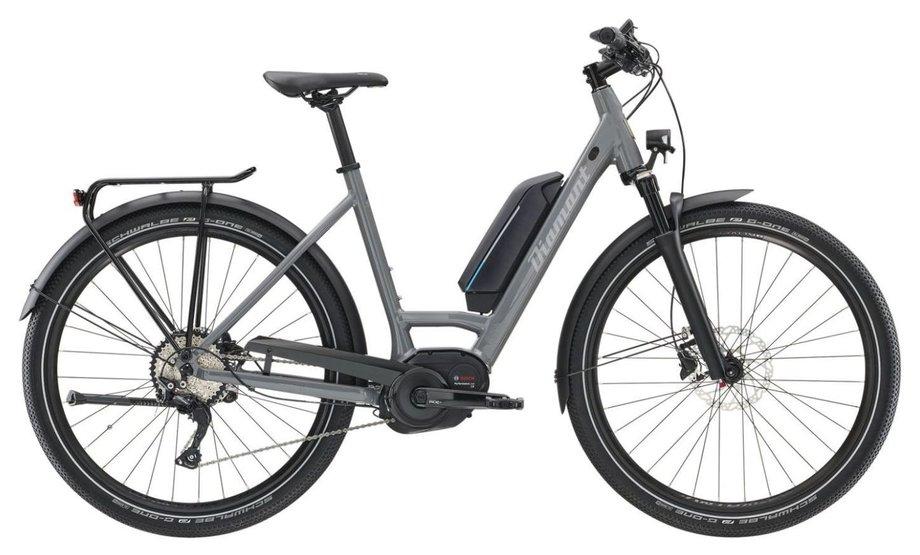 diamant elan legere e bike grau modell 2019 e bikes. Black Bedroom Furniture Sets. Home Design Ideas