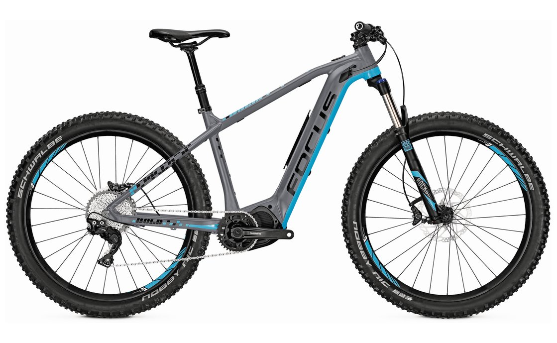 Focus Bold-2 Plus - 378 Wh - 27,5 Plus Zoll - Hardtail