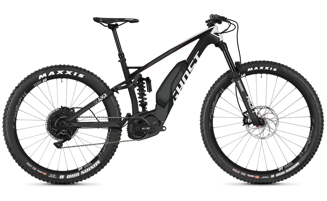 Ghost Hybride SL AMR S4.7+ LC - 504 Wh - 2019 - 27,5 Plus Zoll - Fully