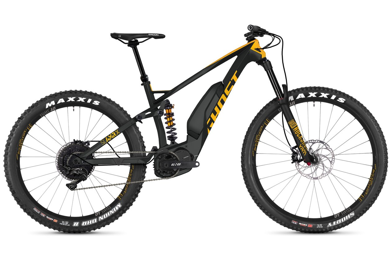 Ghost Hybride SL AMR SX5.7+ LC - 504 Wh - 2019 - 27,5 Plus Zoll - Fully