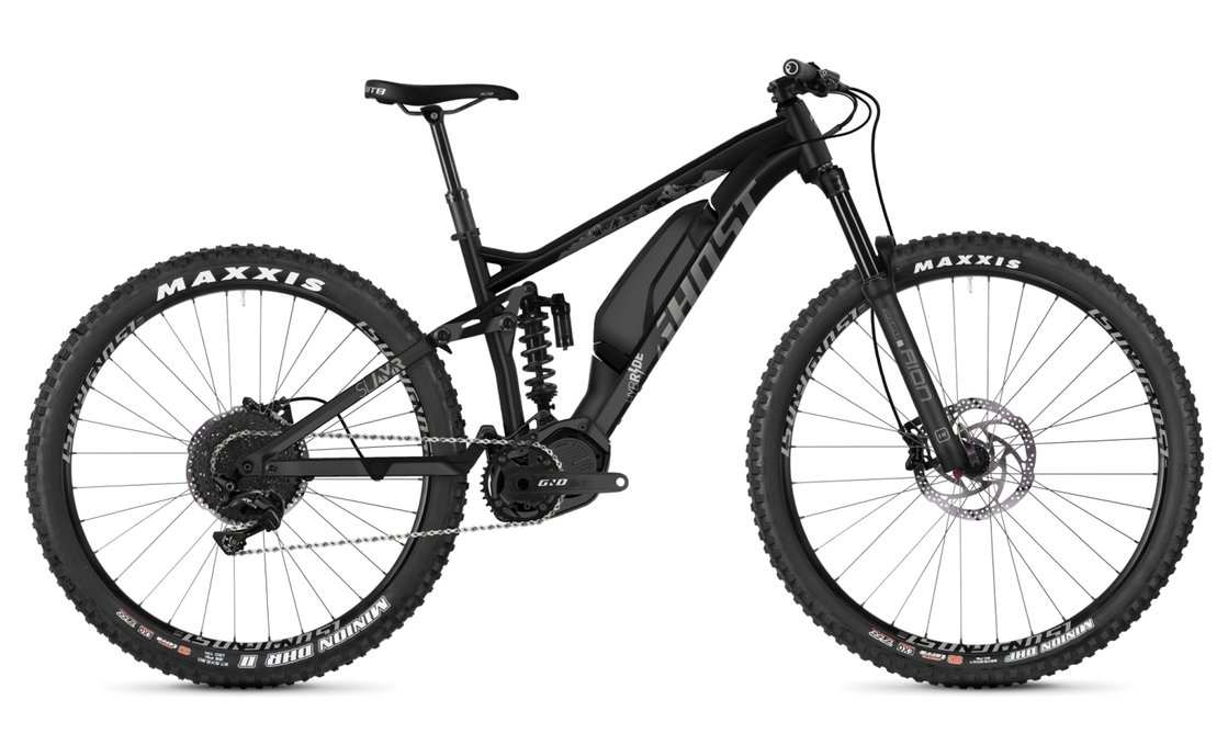 Ghost Hybride SL AMR S1.7+ AL - 504 Wh - 2019 - 29 Zoll - Fully