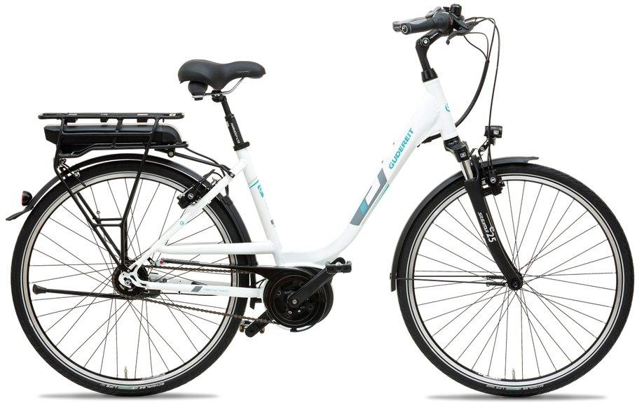gudereit ec 4 400 wh e bike wei modell 2018 test e. Black Bedroom Furniture Sets. Home Design Ideas