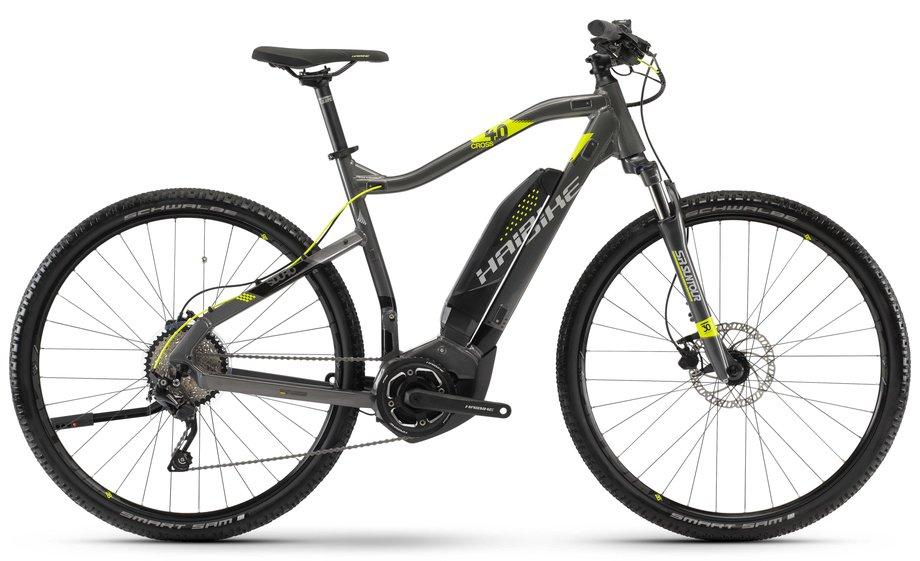 haibike sduro cross 4 0 e bike schwarz modell 2018 test. Black Bedroom Furniture Sets. Home Design Ideas