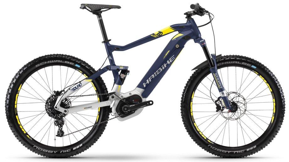 Haibike Sduro FullSeven 7.0 E-Bike Blau Modell 2018