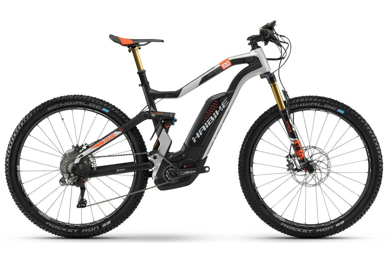 Haibike Xduro FullSeven Carbon 10.0 - 500 Wh - 2018 - 27,5 Zoll - Fully