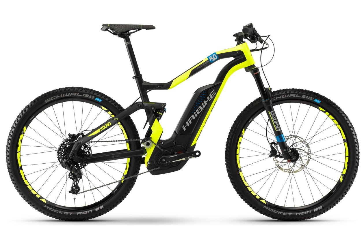 Haibike Xduro FullSeven Carbon 8.0 - 500 Wh - 2018 - 27,5 Zoll - Fully