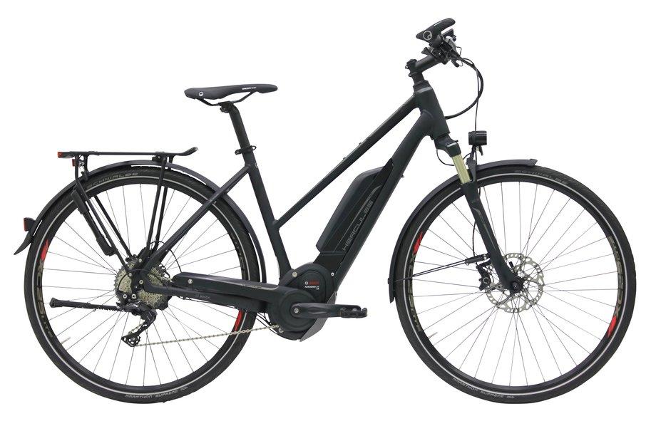 hercules futura pro e bike schwarz modell 2018 test e bikes kaufberatung. Black Bedroom Furniture Sets. Home Design Ideas