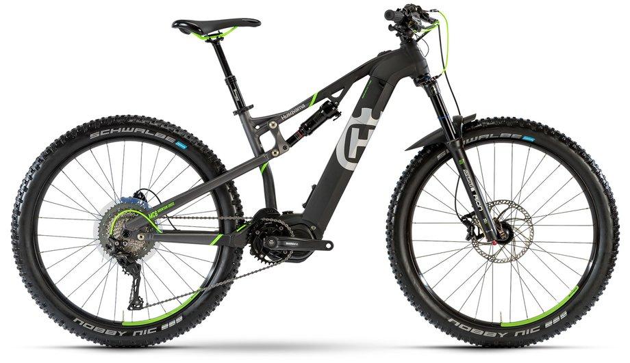 husqvarna mountain cross mc6 e bike schwarz modell 2018. Black Bedroom Furniture Sets. Home Design Ideas