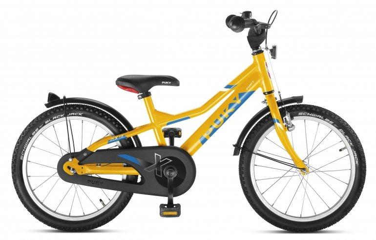 Puky ZLX 18 1 Alu Kinderfahrrad Gelb Modell 2018