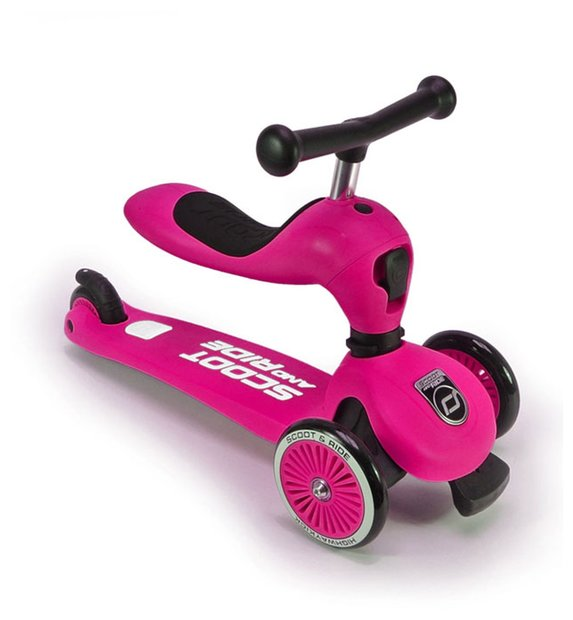 Scoot Ride Highwaykick 1 Roller Pink Modell 2017