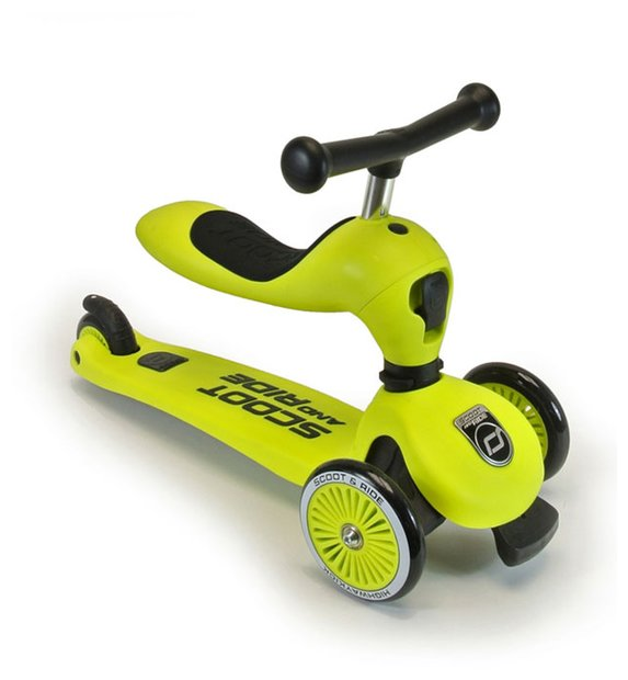 Scoot Ride Highwaykick 1 Roller Gelb Modell 2017