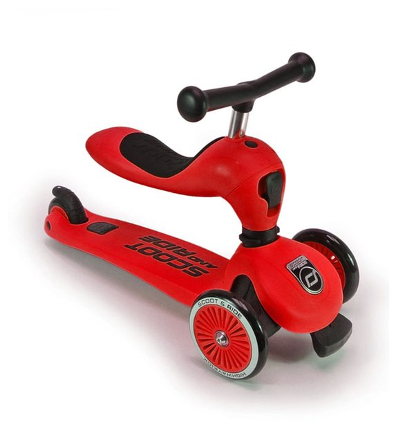 Scoot Ride Highwaykick 1 Roller Rot Modell 2017